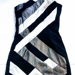 # C26 Jessica McClintock Strapless Mini Dress